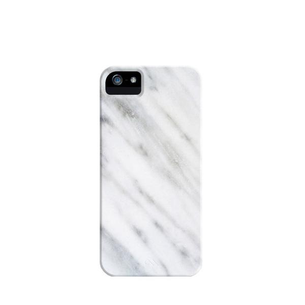 Society6 Carrara Italian Marble iPhone Case