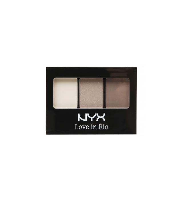 Nyx Love in Rio 3 Colour Shadow Palette