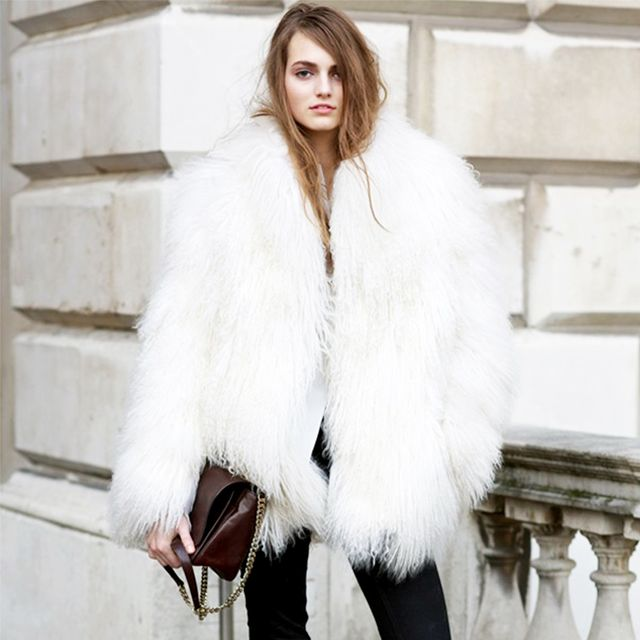 Tip of the Day: The Trick to Pulling Off a Furry Coat