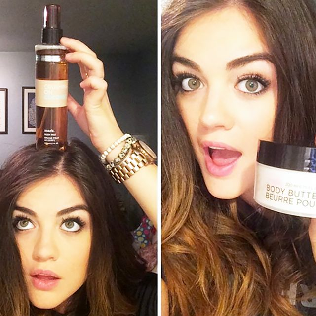 My Winter Beauty Routine, by Lucy Hale