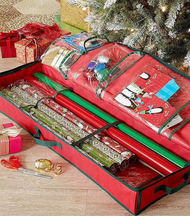 Pier 1 Gift Wrap Storage Bag