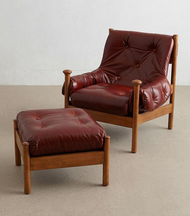 Anthropologie Alvordada Chair + Ottoman