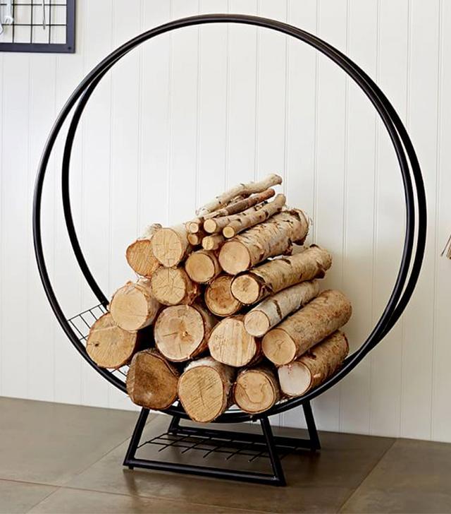 Pottery Barn Kellan Log Ring