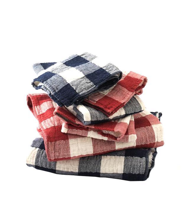 Schoolhouse Electric Vintage Check Towels