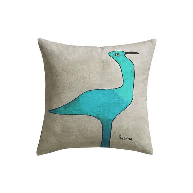 CB2 Gull Pillow
