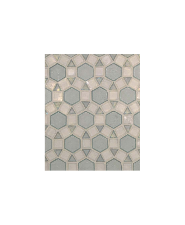 Urban Archaeology Meridian Blend Tile in Oxygen Irid and Clear Irid