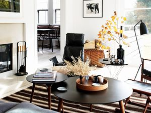 Tour a New York Country Home with Modern Industrial Style