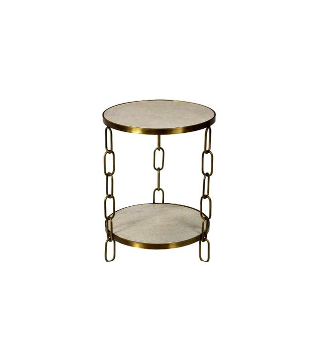 Mecox Chain Link Side Table