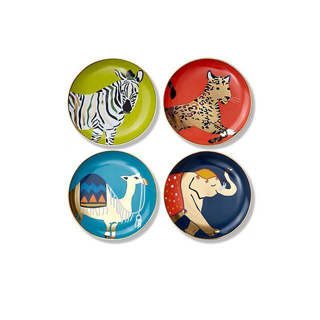 C. Wonder Safari Appetizer Plates