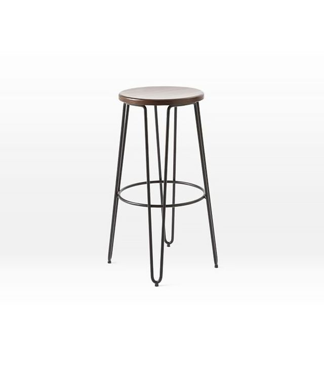 West Elm Hairpin Counter Stool