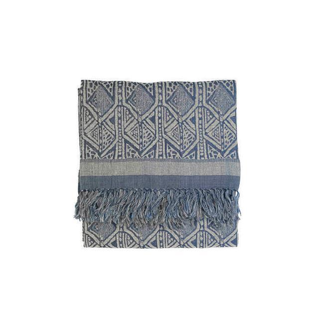 Broste Copenhagen Silk and Wool Throw