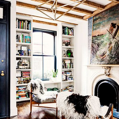 Inside a Small Brooklyn Townhouse with Major Style