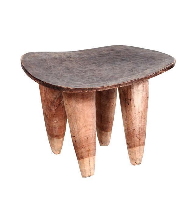 Nickey Kehoe African Samba Wood Senufo Stool