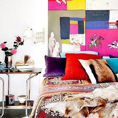 Tour a Colourful Loft with a Personal Touch