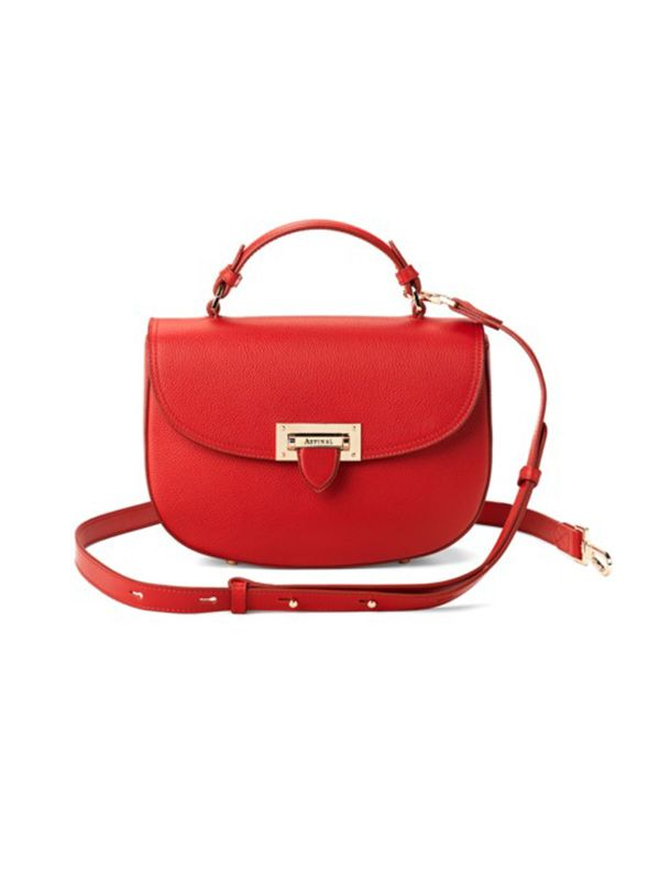 Aspinal of London The Letterbox Saddle Bag