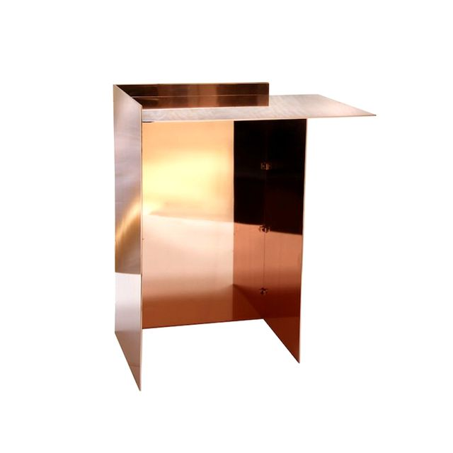 Richard Ostell Copper Side Table