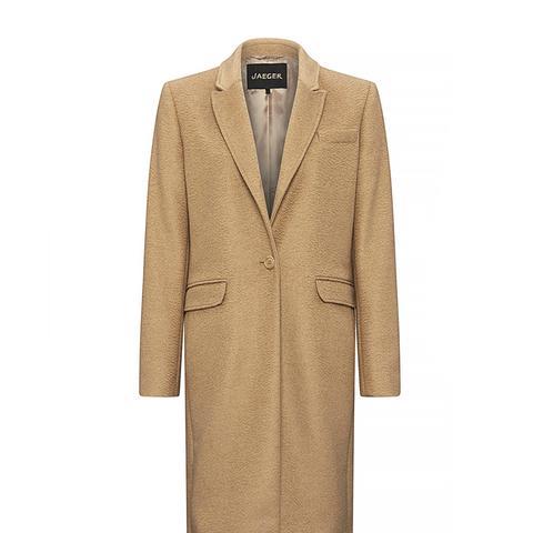 Camel Hair City Coat