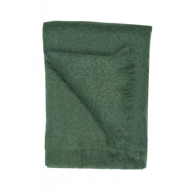 Jayson Home Emerald Mohair Throw