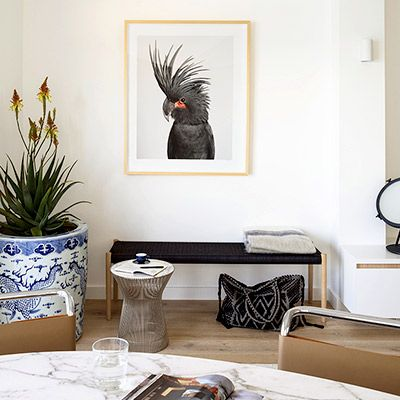 Shop the Room: A Striking Seating Corner