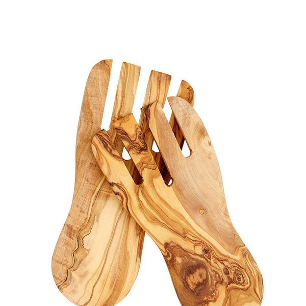 Le Souk Olivique Olive Wood Salad Hands