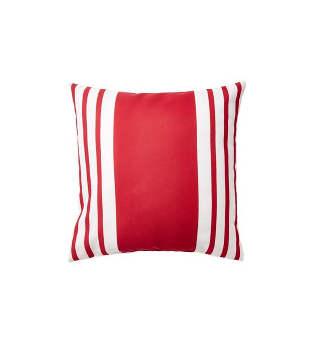 E by Design Fun Stripe Pillow