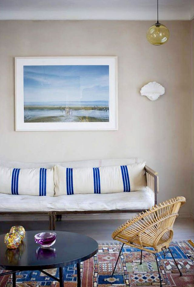 Get the Look: A Simply Serene Living Room