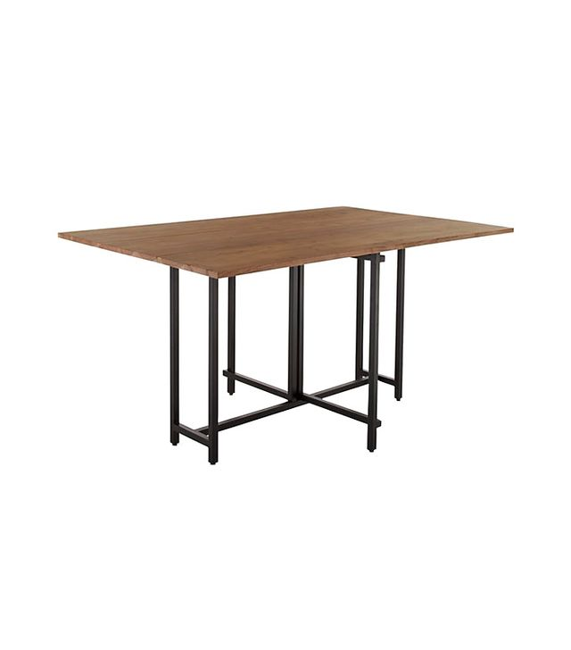 Crate & Barrel Origami Drop Leaf Dining Table