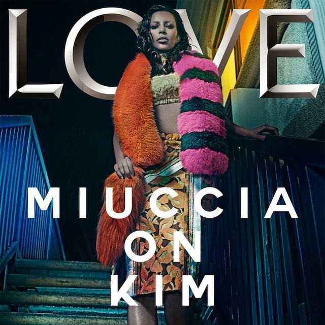 Kim Kardashian's Solo Cover for LOVE Magazine