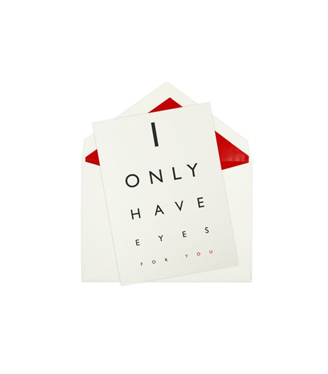 Mrs. John L. Strong I Only Have Eyes for You Card