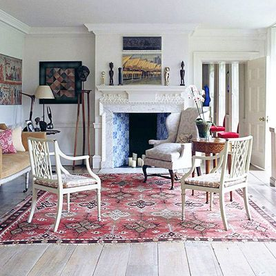 Get the Look: A Classic, Rich Room With a Ladylike Twist