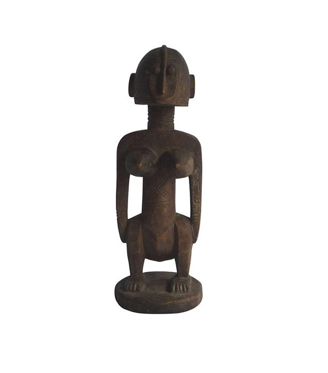 Carved African Fertility Statue