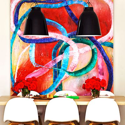 This Is Happening: Oversized Statement Art