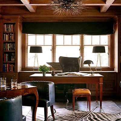 Shop the Room: A Moody, Masculine Office