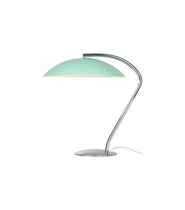 CB2 Atomic Aqua Table Lamp