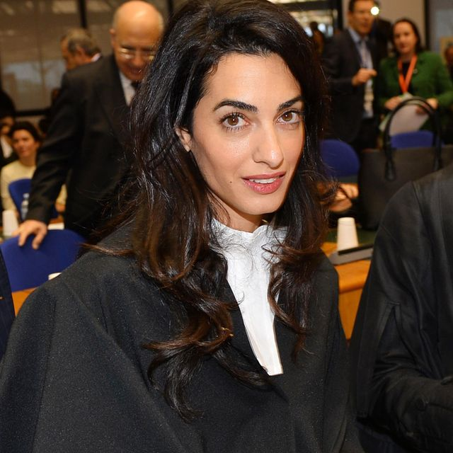 Amal Clooney Responds Brilliantly When Asked Who She Wore to Court