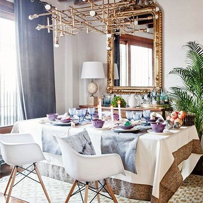 Tour a Cosy-Glam Family Apartment in Madrid