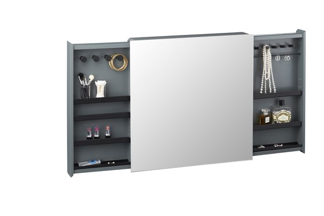 CB2 + SAIC Valet Jewellery Cabinet with Mirror