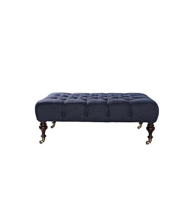 Serena & Lily Essex Coffee Table Ottoman