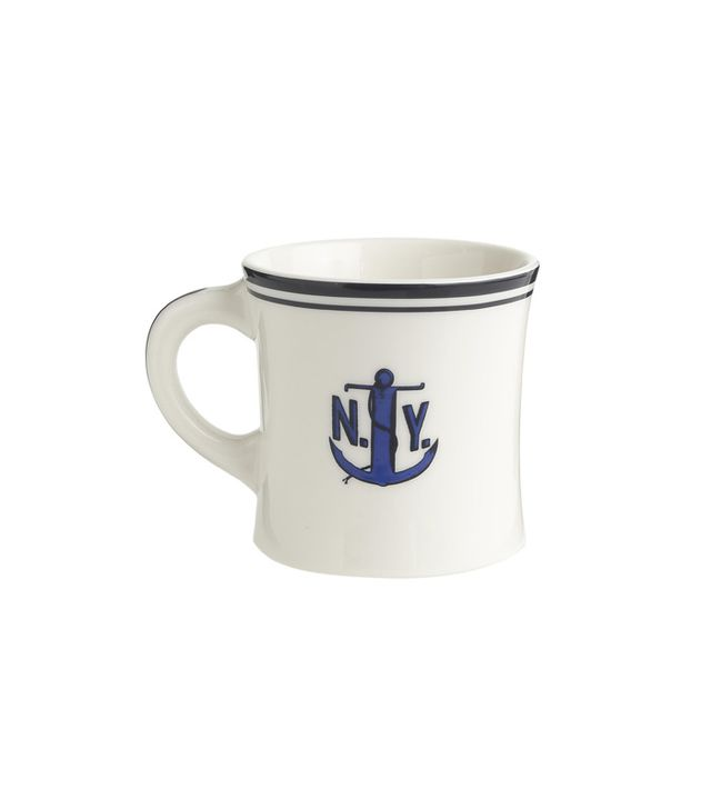 J.Crew Fishes Eddy for J.Crew Anchor Mug