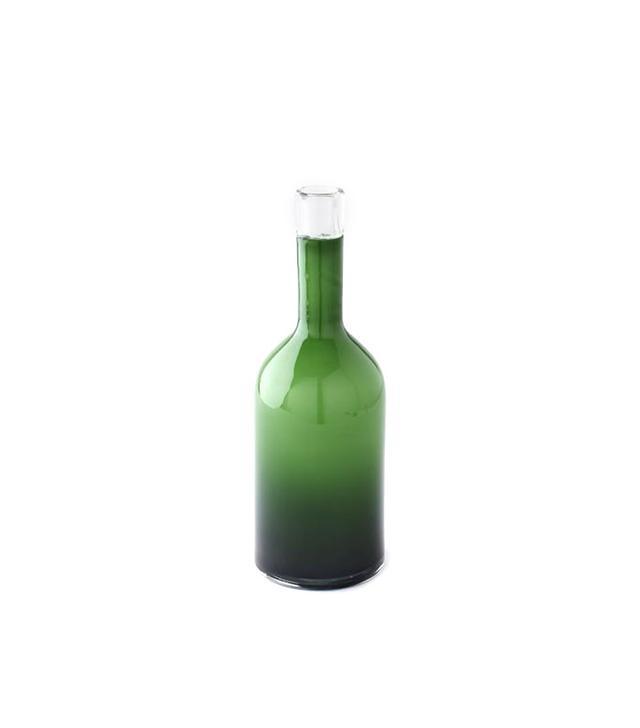 West Elm Tall Glass Bottle Vase
