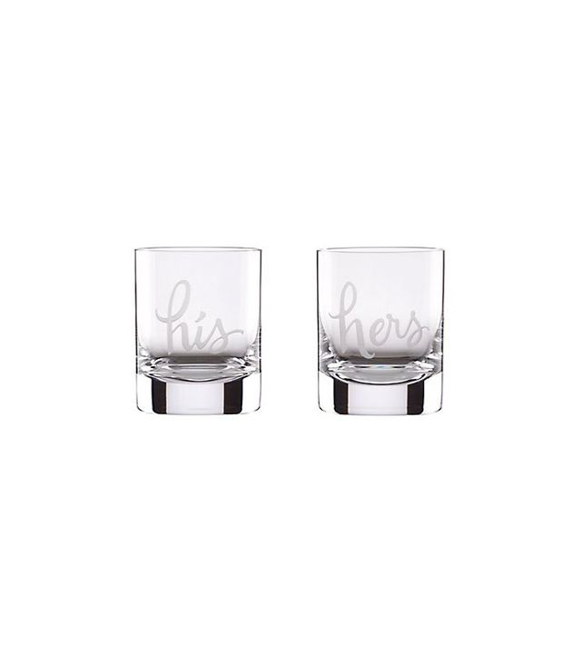 Kate Spade New York His and Hers Double Old Fashioned Glasses