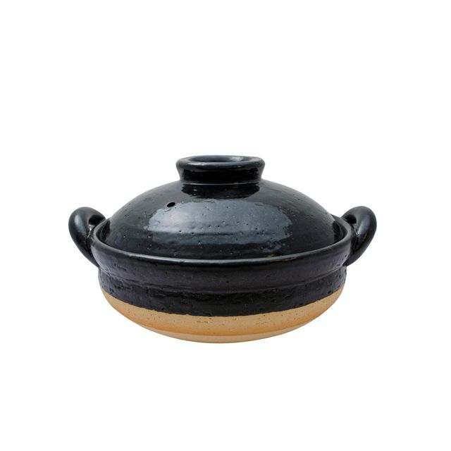 Korin Black Donabe Steamer