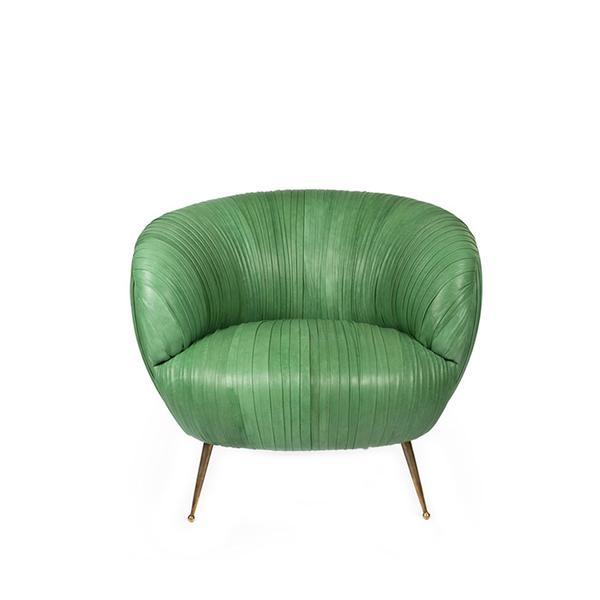 Kelly Wearstler Souffle Leather Chair