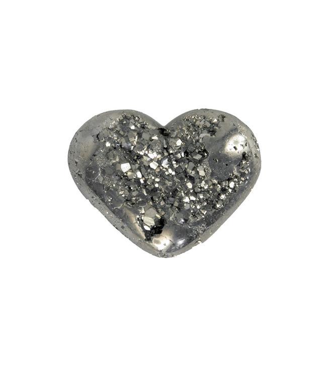 Jayson Home Pyrite Heart