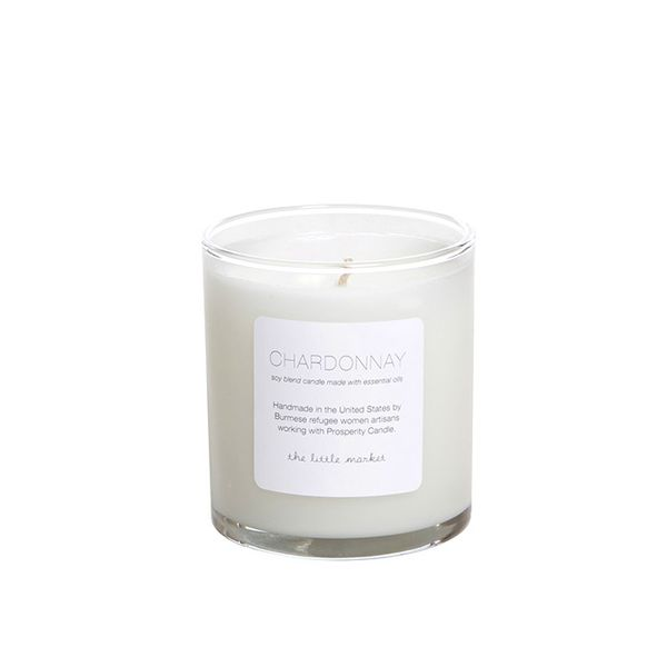 Prosperity Candle for The Little Market Chardonnay Soy Blend Candle