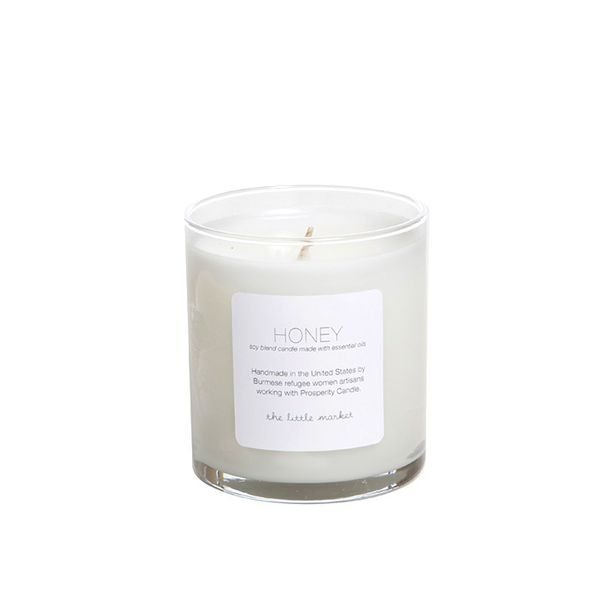 Prosperity Candle for The Little Market Honey Soy Blend Candle