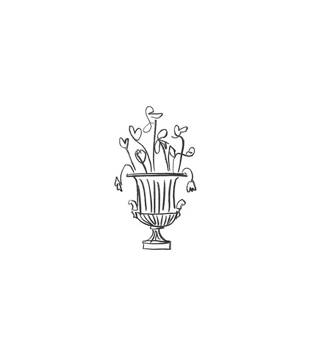 """Buddy Editions """"Spring Flowers in a Classical Urn"""" by Luke Edward Hall"""