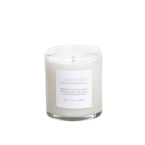 Prosperity Candle for The Little Market Lavender Soy Blend Candle