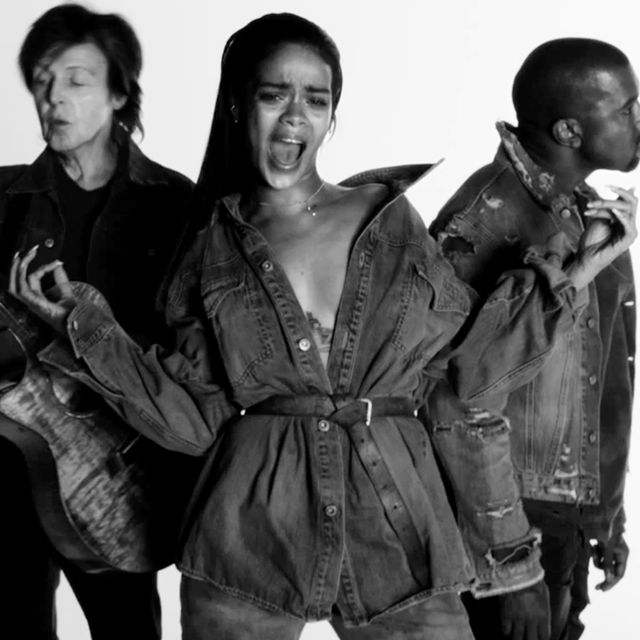 It's Here: Rihanna's New Music Video With Kanye and Paul McCartney