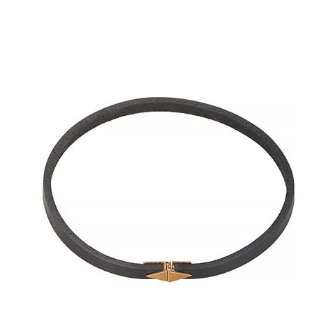Bronze and Leather Choker